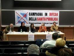campagna in difesa della sanità pubblica