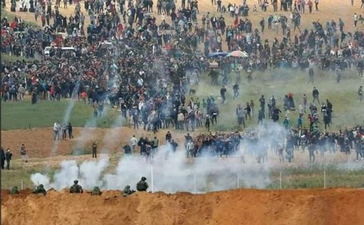 Hanno ragione. Se non gli sparano, nessuno ascolta i palestinesi di Gaza