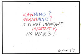 Womanning