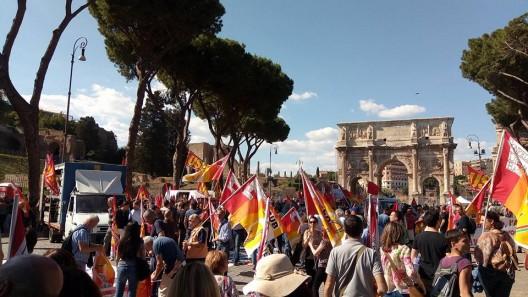 manifestazione romana del 27 maggio