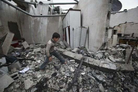 gaza distrutta