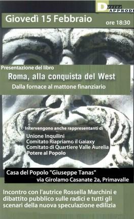 roma, alla conquista del west