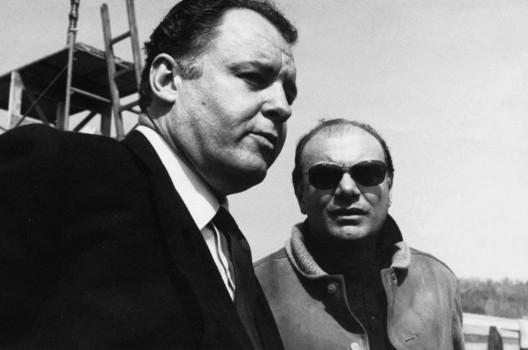 Rod Steiger con Francesco