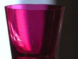 bicchiere colorato