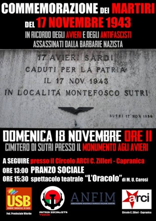 commemorazione martiri del 17 novembre
