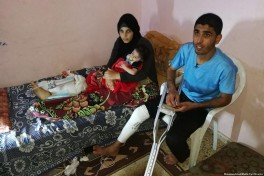 palestinesi feriti