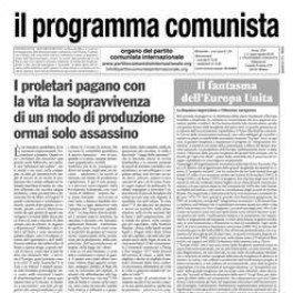 il programma comunista