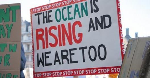 ocean is rising