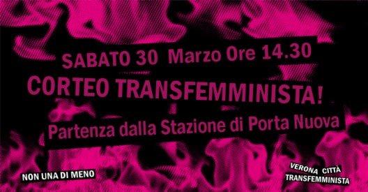 corteo transfemminista