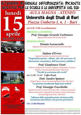 manifesto del 15 aprile