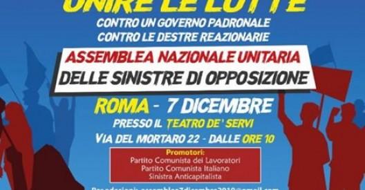 assemblea 7 dicembre 2