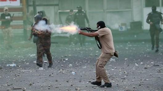 sparatori in iraq
