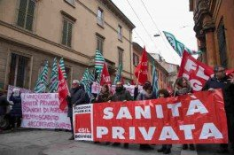 sciopero sanità privata bologna 2