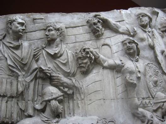 rilievi romani per il segno e la forza