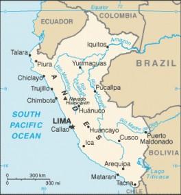 perù mappa