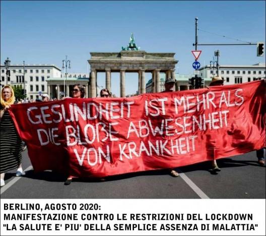 berlino antilockdown