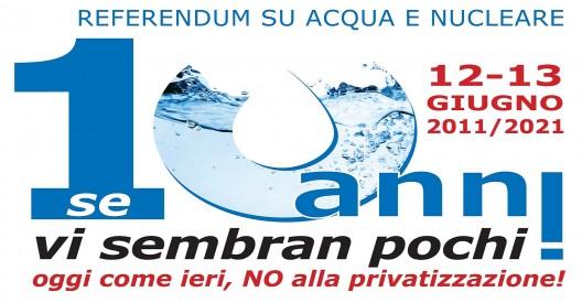 acqua e nucleare referendum