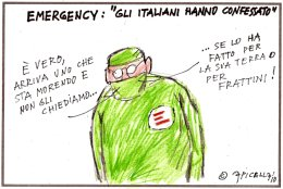 Emergency. Gli italiani hanno confessato