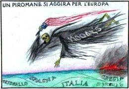 Un piromane si aggira per l'Europa