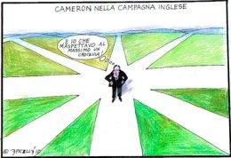 Cameron nella campagna inglese