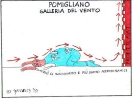 Pomigliano. La galleria del vento