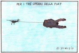Per i tre operai della Fiat