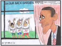 Nel giardino di casa degli USA