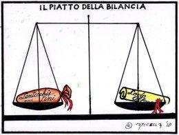Il piatto della bilancia