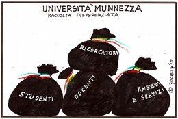 Università munnezza