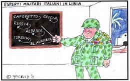 Esperti militari italiani in Libia