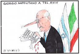 Napolitano a Tel Aviv