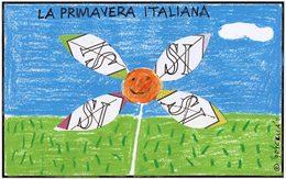La primavera italiana