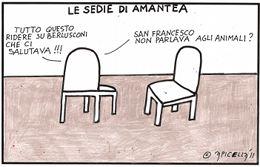 Le sedie di Amantea