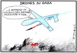 Drones su Gaza