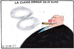 La classe operaia va in fumo