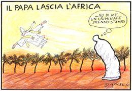 Il Papa lascia l'Africa