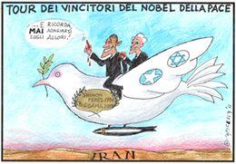 Il tour dei Nobel per la pace
