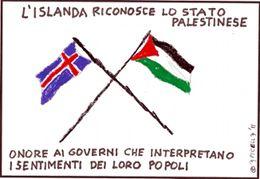 L'Islanda riconosce lo Stato Palestinese