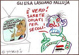 Gli USA lasciano Falluja