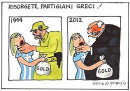 Risorgete Partigiani greci