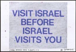 Visit Israel...